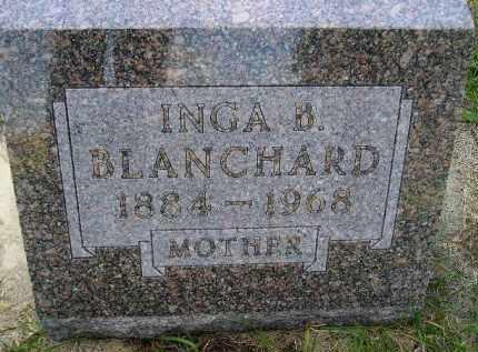 CHILSON BLANCHARD, INGA BERGETA - Codington County, South Dakota | INGA BERGETA CHILSON BLANCHARD - South Dakota Gravestone Photos