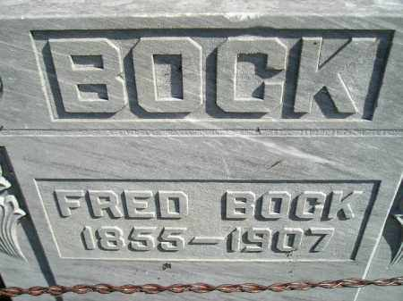 BOCK, FRED - Codington County, South Dakota | FRED BOCK - South Dakota Gravestone Photos