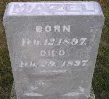 BOICE, MAZEL - Codington County, South Dakota   MAZEL BOICE - South Dakota Gravestone Photos