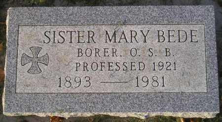 BORER, SERAPHINA - Codington County, South Dakota   SERAPHINA BORER - South Dakota Gravestone Photos