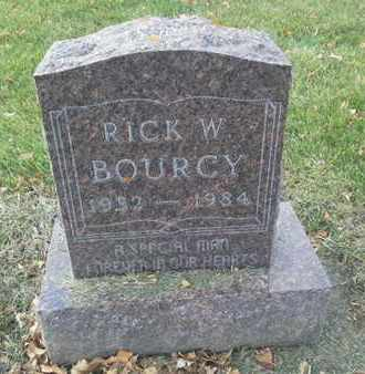 BOURCY, RICK W - Codington County, South Dakota   RICK W BOURCY - South Dakota Gravestone Photos