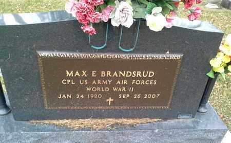 "BRANDSRUD, MAX E ""MILITARY"" - Codington County, South Dakota | MAX E ""MILITARY"" BRANDSRUD - South Dakota Gravestone Photos"