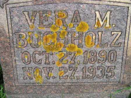 BUCHHOLZ, VERA M. - Codington County, South Dakota | VERA M. BUCHHOLZ - South Dakota Gravestone Photos