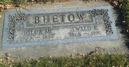 BUETOW, EWALD R - Codington County, South Dakota | EWALD R BUETOW - South Dakota Gravestone Photos