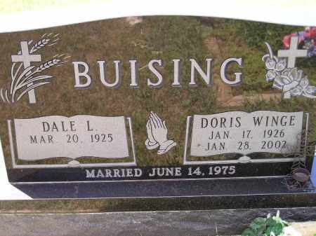 BUISING, DALE L. - Codington County, South Dakota | DALE L. BUISING - South Dakota Gravestone Photos
