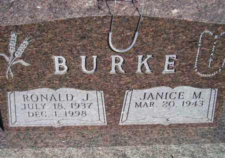RICKARD BURKE, JANICE - Codington County, South Dakota | JANICE RICKARD BURKE - South Dakota Gravestone Photos
