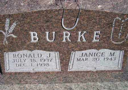 BURKE, RONALD J. - Codington County, South Dakota | RONALD J. BURKE - South Dakota Gravestone Photos