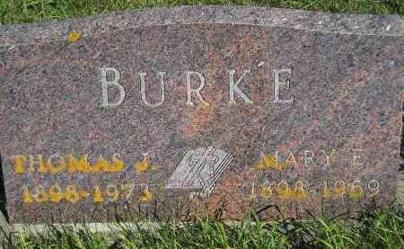 BECKING BURKE, MARY ELIZABETH - Codington County, South Dakota | MARY ELIZABETH BECKING BURKE - South Dakota Gravestone Photos