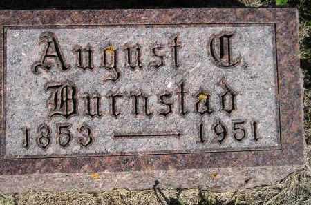 BURNSTAD, AUGUST C. - Codington County, South Dakota   AUGUST C. BURNSTAD - South Dakota Gravestone Photos