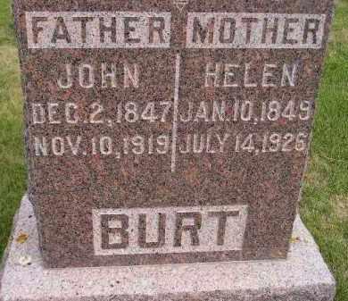 BURT, JOHN SR. - Codington County, South Dakota   JOHN SR. BURT - South Dakota Gravestone Photos