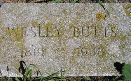 BUTTS, WESLEY - Codington County, South Dakota | WESLEY BUTTS - South Dakota Gravestone Photos