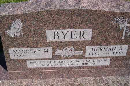 CURLEY BYER, MARGERY M. - Codington County, South Dakota | MARGERY M. CURLEY BYER - South Dakota Gravestone Photos
