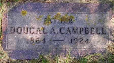 CAMPBELL, DOUGAL A. - Codington County, South Dakota   DOUGAL A. CAMPBELL - South Dakota Gravestone Photos