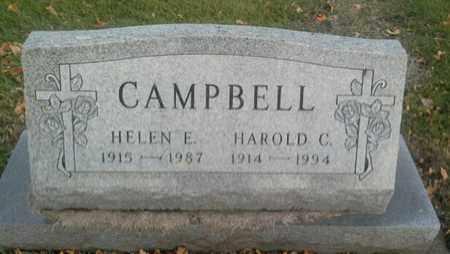 CAMPBELL, HELEN E - Codington County, South Dakota | HELEN E CAMPBELL - South Dakota Gravestone Photos