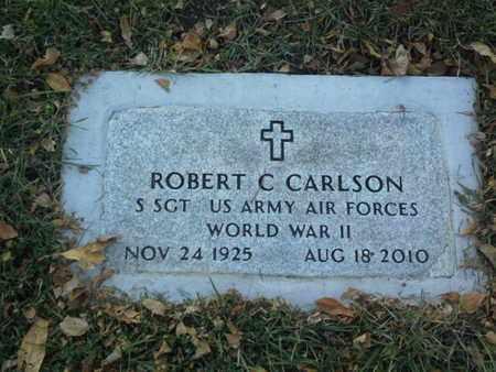 "CARLSON, ROBERT C ""MILITARY"" - Codington County, South Dakota | ROBERT C ""MILITARY"" CARLSON - South Dakota Gravestone Photos"
