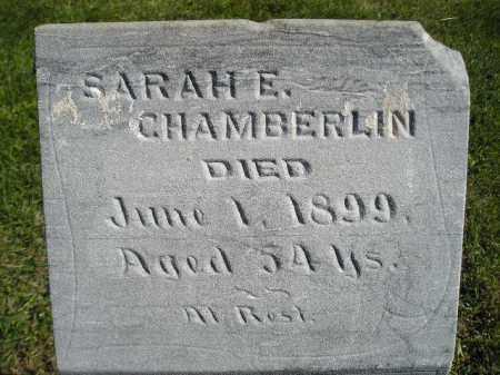 CHAMBERLIN, SARAH E. - Codington County, South Dakota   SARAH E. CHAMBERLIN - South Dakota Gravestone Photos