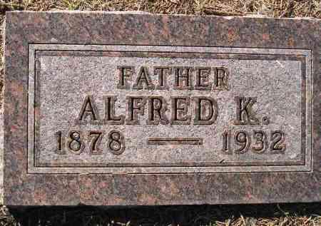 CHILSON, ALFRED K. - Codington County, South Dakota | ALFRED K. CHILSON - South Dakota Gravestone Photos