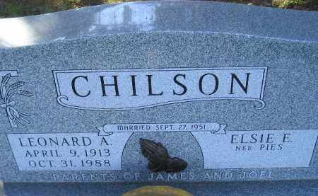 PIES CHILSON, ELSIE E. - Codington County, South Dakota   ELSIE E. PIES CHILSON - South Dakota Gravestone Photos