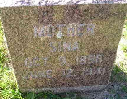 CHILSON, SINA - Codington County, South Dakota   SINA CHILSON - South Dakota Gravestone Photos