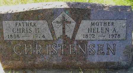BAUMAN CHRISTENSEN, HELEN AUGUSTA - Codington County, South Dakota | HELEN AUGUSTA BAUMAN CHRISTENSEN - South Dakota Gravestone Photos