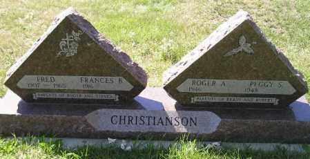 CHRISTIANSON, PEGGY S. - Codington County, South Dakota | PEGGY S. CHRISTIANSON - South Dakota Gravestone Photos