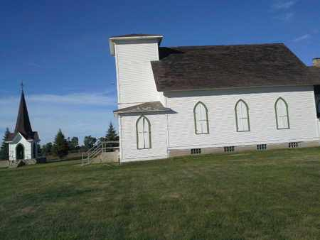 *CHURCH, SIDE VIEW & BELL - Codington County, South Dakota | SIDE VIEW & BELL *CHURCH - South Dakota Gravestone Photos