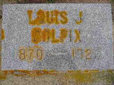 COLFIX, LOUIS J. - Codington County, South Dakota | LOUIS J. COLFIX - South Dakota Gravestone Photos