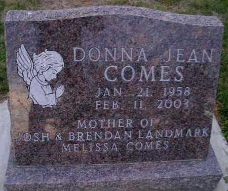 COMES, DONNA JEAN - Codington County, South Dakota | DONNA JEAN COMES - South Dakota Gravestone Photos
