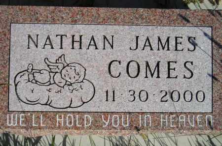 COMES, NATHAN JAMES - Codington County, South Dakota | NATHAN JAMES COMES - South Dakota Gravestone Photos
