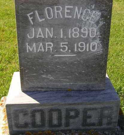 COOPER, FLORENCE - Codington County, South Dakota | FLORENCE COOPER - South Dakota Gravestone Photos