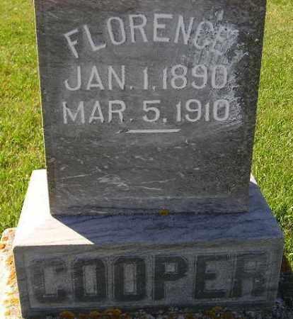 COOPER, FLORENCE - Codington County, South Dakota   FLORENCE COOPER - South Dakota Gravestone Photos