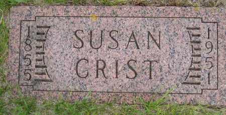 CLARK CRIST, SUSAN - Codington County, South Dakota | SUSAN CLARK CRIST - South Dakota Gravestone Photos