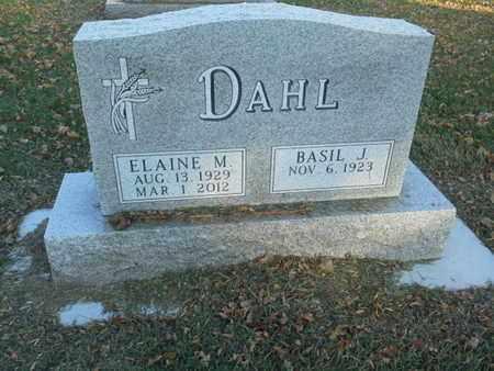DAHL, BASIL J - Codington County, South Dakota | BASIL J DAHL - South Dakota Gravestone Photos