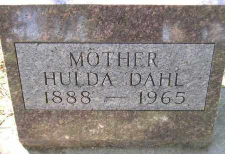 KLAGENBERG DAHL, HULDA - Codington County, South Dakota | HULDA KLAGENBERG DAHL - South Dakota Gravestone Photos