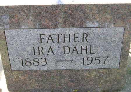 DAHL, IRA - Codington County, South Dakota   IRA DAHL - South Dakota Gravestone Photos