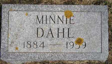 THORKELSON DAHL, MINNIE - Codington County, South Dakota | MINNIE THORKELSON DAHL - South Dakota Gravestone Photos