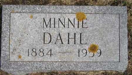 DAHL, MINNIE - Codington County, South Dakota | MINNIE DAHL - South Dakota Gravestone Photos