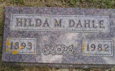 RUKSTAD DAHLE, HILDA MARIE - Codington County, South Dakota   HILDA MARIE RUKSTAD DAHLE - South Dakota Gravestone Photos