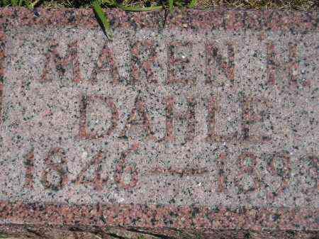 DAHLE, MAREN H. - Codington County, South Dakota   MAREN H. DAHLE - South Dakota Gravestone Photos
