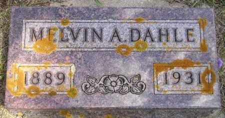 DAHLE, MELVIN A. - Codington County, South Dakota | MELVIN A. DAHLE - South Dakota Gravestone Photos