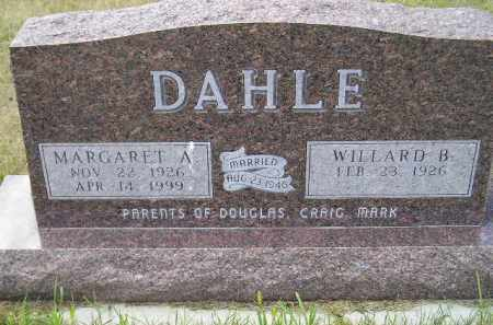 DAHLE, WILLARD B. - Codington County, South Dakota | WILLARD B. DAHLE - South Dakota Gravestone Photos