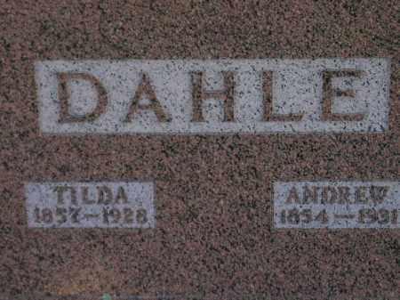 DAHLE, TILDA - Codington County, South Dakota | TILDA DAHLE - South Dakota Gravestone Photos