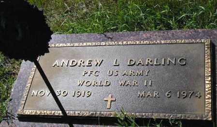 DARLING, ANDREW L. (WW II) - Codington County, South Dakota   ANDREW L. (WW II) DARLING - South Dakota Gravestone Photos