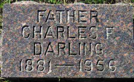 DARLING, CHARLES F. - Codington County, South Dakota | CHARLES F. DARLING - South Dakota Gravestone Photos