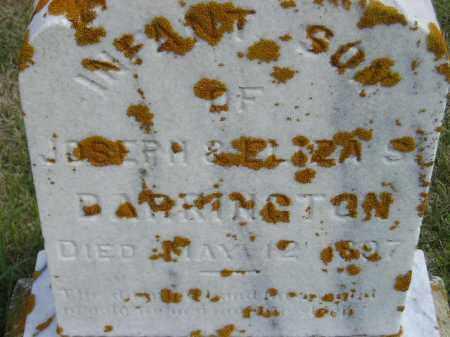 DARRINGTON, INFANT SON - Codington County, South Dakota | INFANT SON DARRINGTON - South Dakota Gravestone Photos