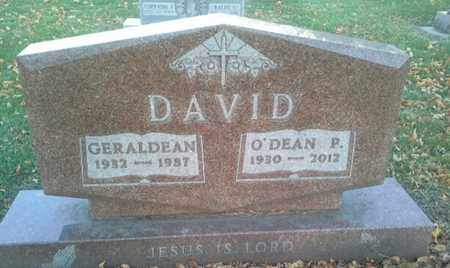 DAVID, GERALDEN - Codington County, South Dakota | GERALDEN DAVID - South Dakota Gravestone Photos