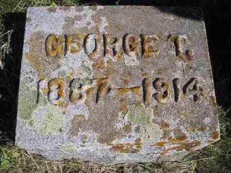 DEAN, GEORGE T. - Codington County, South Dakota | GEORGE T. DEAN - South Dakota Gravestone Photos