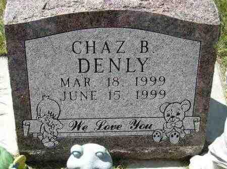 DENLY, CHAZ. BENJAMIN - Codington County, South Dakota   CHAZ. BENJAMIN DENLY - South Dakota Gravestone Photos