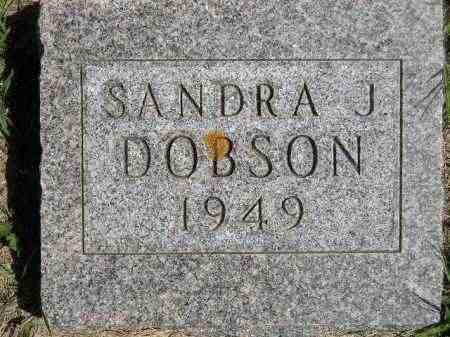 DOBSON, SANDRA J. - Codington County, South Dakota | SANDRA J. DOBSON - South Dakota Gravestone Photos