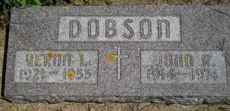 DOBSON, JOHN ROY - Codington County, South Dakota | JOHN ROY DOBSON - South Dakota Gravestone Photos